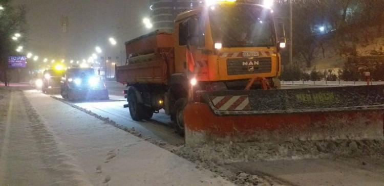 снігопад у столиці