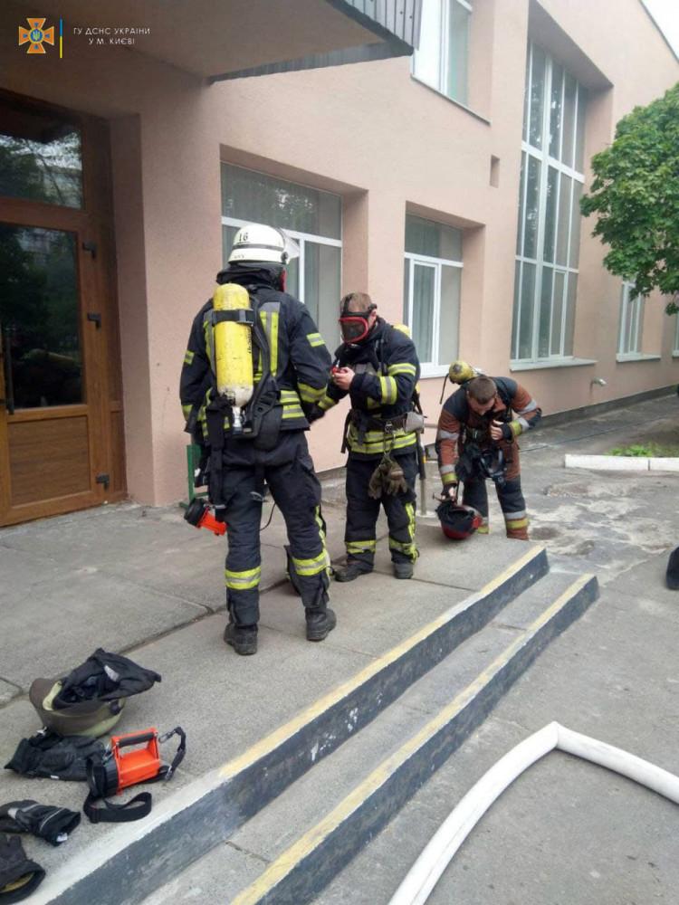 Пожежа у школі